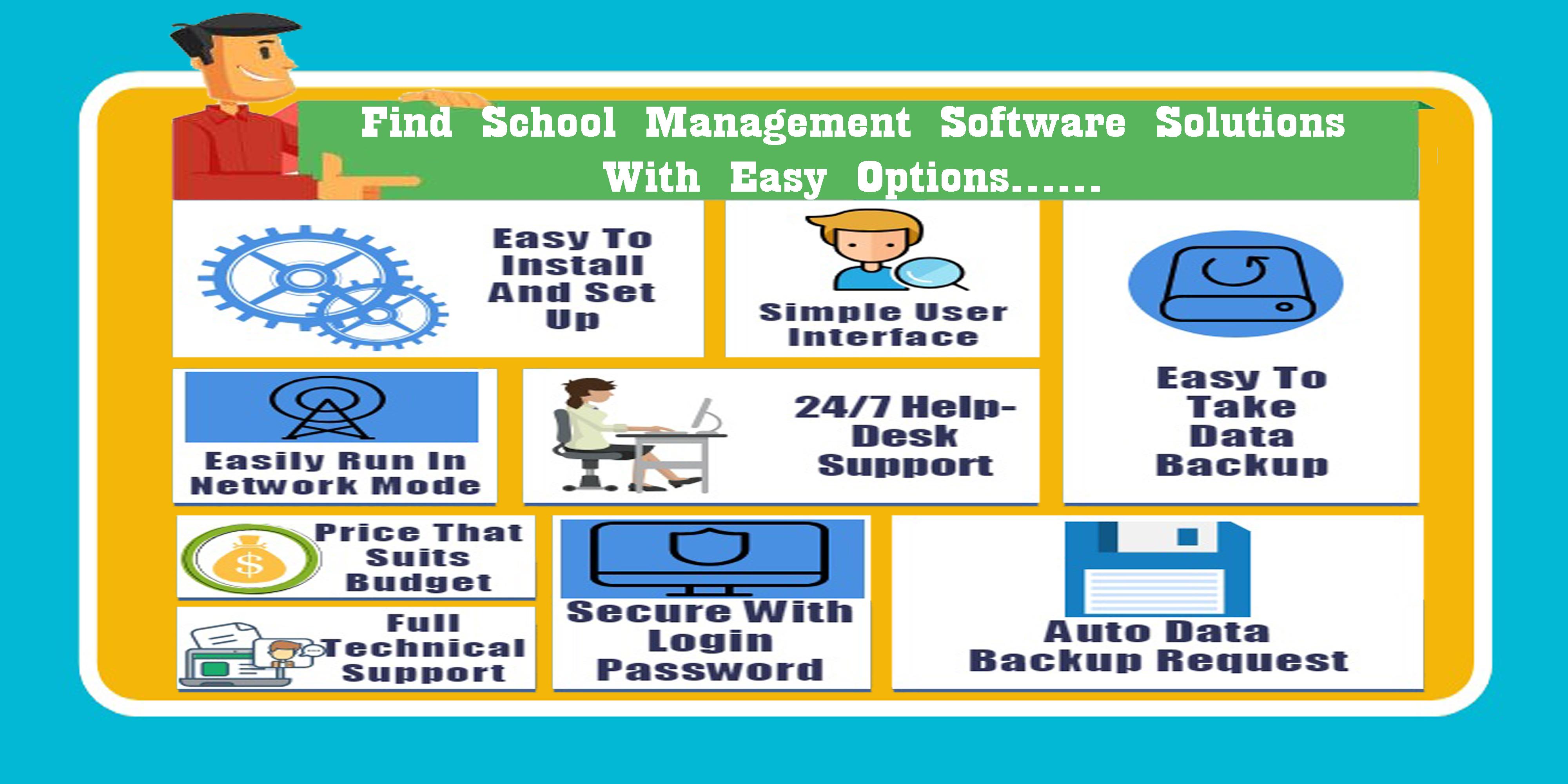 Find School Management Software Solutions